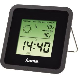 Hama Thermo-/Hygrometer TH50, Schwarz