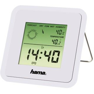 Hama Thermo-/Hygrometer TH50, Weiß