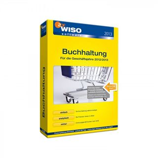 Buhl Data Service WISO Buchhaltung 2013 32/64 Bit Deutsch Office Vollversion PC (DVD)