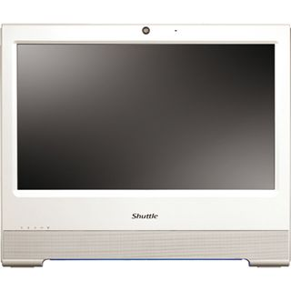 Shuttle Barebone AIO-X50V2 PLUS 39.6cm Touch NM10 D525 weiß
