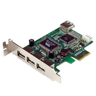 Startech PEXUSB4DP 4 Port PCIe x1 Low Profile retail