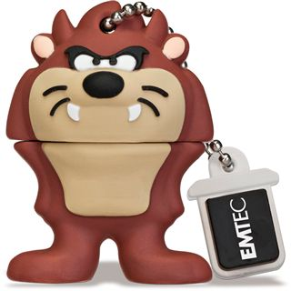 8 GB EMTEC Looney Tunes L103 The Tazmanian Devil Figur USB 2.0