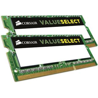 8GB Corsair ValueSelect DDR3L-1600 SO-DIMM CL11 Dual Kit