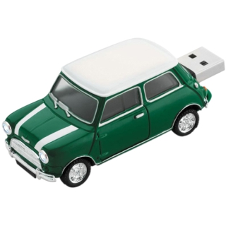 4 GB Platinum Mini Cooper gruen USB 2.0