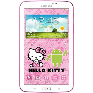 "7.0"" (17,78cm) Samsung Galaxy Tab 3 7.0 T2100 Hello Kitty Edition WiFi/Bluetooth V3.0 8GB weiss/rosa"