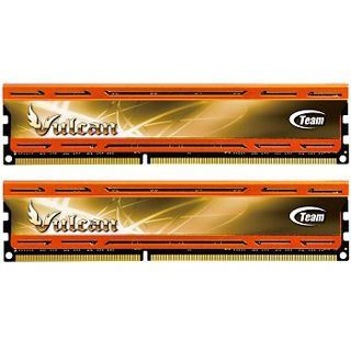 8GB TeamGroup Vulcan Series orange DDR3-2133 DIMM CL10 Dual Kit