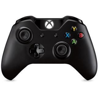 Microsoft Xbox One Wireless Controller schwarz XBOX One