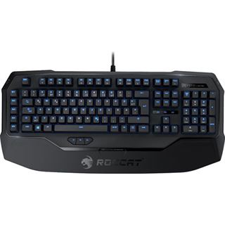 Roccat Ryos MK Pro Gaming Keyboard CHERRY MX Red USB Deutsch schwarz (kabelgebunden)