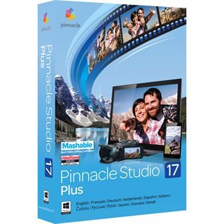 Corel Pinnacle Studio 17.0 Plus 32/64 Bit Multilingual Videosoftware Vollversion PC (DVD)