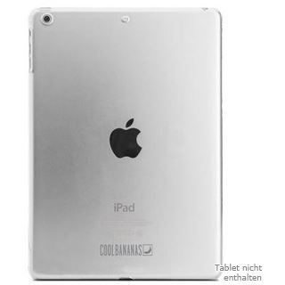 CoolBananas CoverMe Backcover für iPad Air (Transparent)