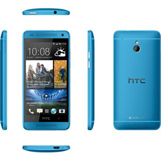 HTC One Mini 16 GB blau