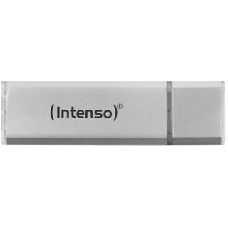128 GB Intenso Ultra Line silber microUSB 3.0