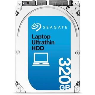 "320GB Seagate Laptop Ultrathin HDD ST320LT030 16MB 2.5"" (6.4cm) SATA 6Gb/s"