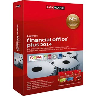Lexware Financial Office Plus 2014 Deutsch Finanzen Vollversion PC (CD)