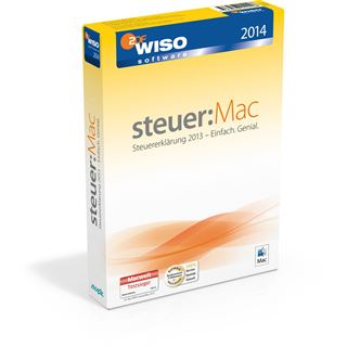 Buhl Data Service WISO Steuer:Mac 2014 Deutsch Finanzen Vollversion Mac (DVD)