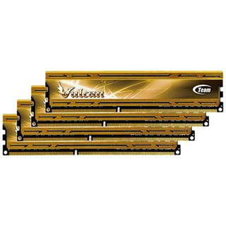 32GB TeamGroup Vulcan Series gold DDR3-1600 DIMM CL9 Quad Kit