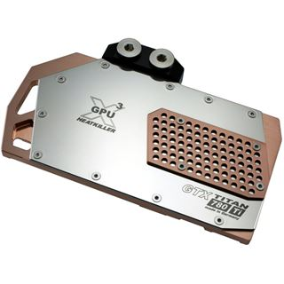 Watercool Heatkiller GPU-X³ GTX Titan/780/780 Ti Hole Edition Full Cover VGA Kühler