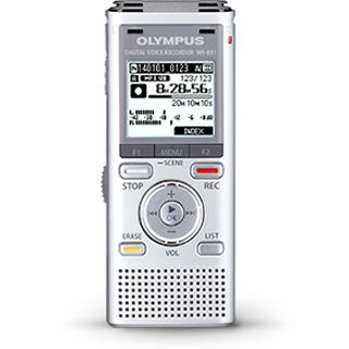 OLYMPUS WS-831 Audio Recorder silber