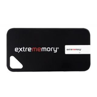 8 GB Extrememory Xpression iPhone 4/4s Cover schwarz USB 2.0