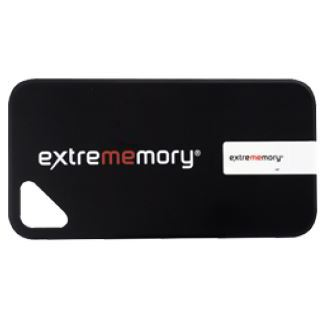 8 GB Extrememory Xpression iPhone5/5s/5c Cover schwarz USB 2.0