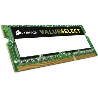 8GB Corsair ValueSelect DDR3L-1600 SO-DIMM CL11 Single