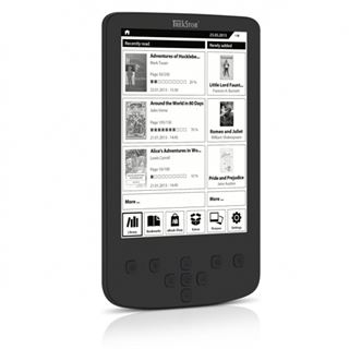 "6.0"" (15,24cm) TrekStor e-Book Reader Pyrus LED, schwarz"