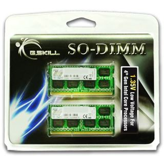 16GB G.Skill F3-1333C9D-16GSL DDR3-1333 SO-DIMM CL9 Dual Kit