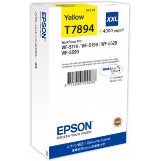 Epson WF-5xxx Series Ink Cart. XXL gelb