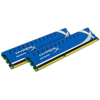 8GB Kingston HyperX Genesis DDR3-1866 DIMM CL10 Dual Kit