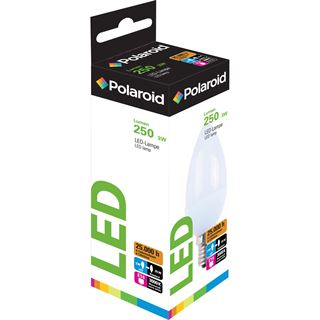 Polaroid LED Retrofit, E14, Candle, 3W (25W), 3000K