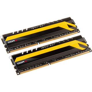 8GB Avexir Core Series MPOWER Edition blaue LED DDR3-2400 DIMM CL11 Dual Kit