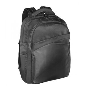 "V7 17.3"" Edge Backpack schwarz"
