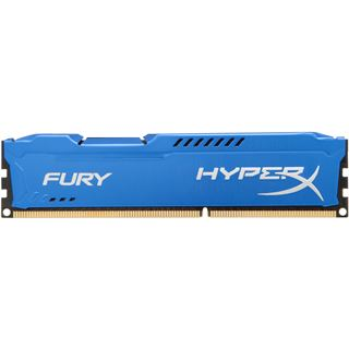 4GB HyperX FURY blau DDR3-1600 DIMM CL10 Single