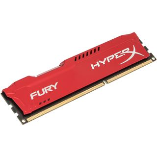 8GB HyperX FURY rot DDR3-1600 DIMM CL10 Single