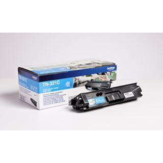 Brother Toner TN-321C Cyan (ca. 1500 Seiten)