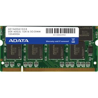 1GB ADATA Premier DDR-400 SO-DIMM CL3 Single