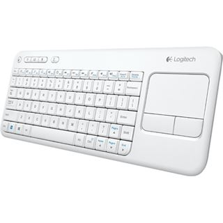 Logitech K400 Wireless Touch weiß