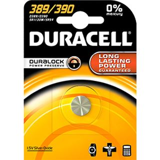 Duracell Batterie Silver Oxide, Knopfzelle, 389/390, 1.5V