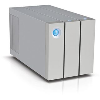 "6000GB LaCie 2big Thunderbolt 2 9000437EK 3.5"" (8.9cm) 2x Thunderbolt 2 20Gb/s weiss"