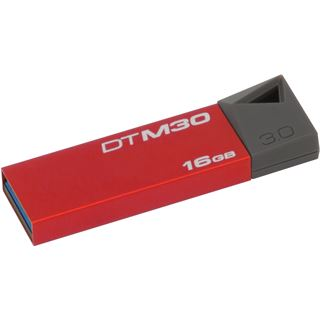 16 GB Kingston DataTraveler Mini Ruby rot/grau USB 3.0