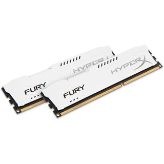 16GB HyperX FURY weiß DDR3-1333 DIMM CL9 Dual Kit