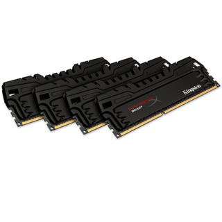 16GB HyperX Beast DDR3-1866 DIMM CL9 Quad Kit