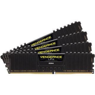 16GB Corsair Vengeance LPX schwarz DDR4-2800 DIMM CL16 Quad Kit