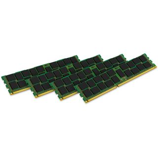 64GB Kingston ValueRAM DDR3L-1600 regECC DIMM CL11 Quad Kit