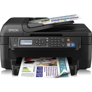 Epson WorkForce WF-2650DWF Tinte Drucken/Scannen/Kopieren/Faxen USB 2.0/WLAN