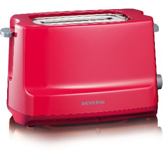Severin Toaster 750W AT 2284 rot/grau