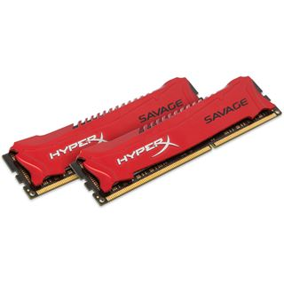 8GB HyperX Savage rot DDR3-1600 DIMM CL9 Dual Kit