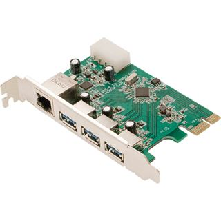 LogiLink PC0074 4 Port PCIe 2.0 x1 retail