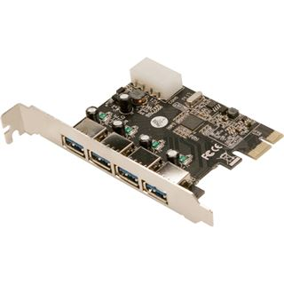 LogiLink PC0057A 4 Port PCIe x1 retail