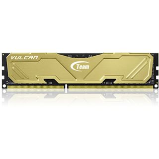 8GB TeamGroup Vulcan Series gold DDR3-2400 DIMM CL11 Dual Kit